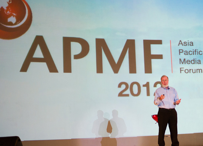 Kevin Kelly, APMF2012.
