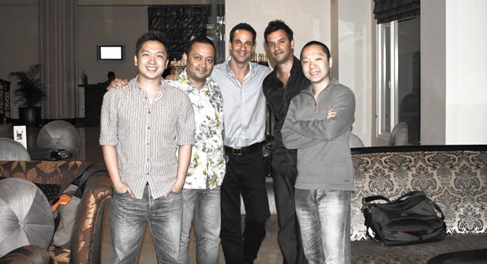 Patrick, Ady, Ian, David, Eric